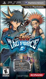 Yugioh! 5d's Tag Force 5 - PSP ISO